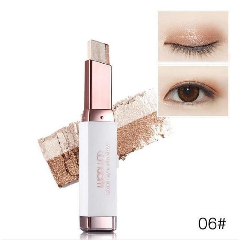 Sáp kẻ mắt 2 màu Hàn Quốc color eye shadow số 06 MKHO#06 cao cấp