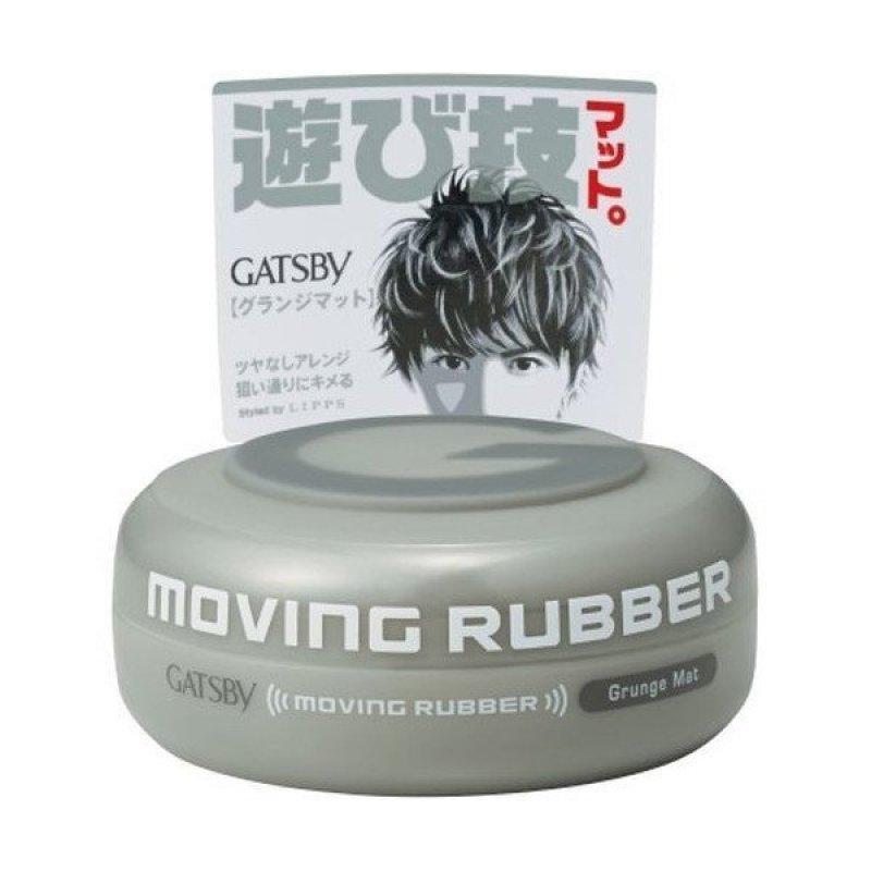 Sáp vuốt tóc Gatsby Moving Rubber Grunge Mat 80g (Ghi)