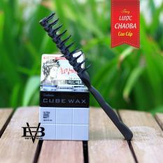 Sáp vuốt tóc Hàn Quốc Cube Wax Ultra Hard Matt Xám Hàn Quốc + Tặng lược tạo kiểu cao cấp Chaoba