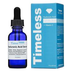 Hình ảnh Serum Dưỡng ẩm, Sáng da, Làm đều màu da TimeLess Hyaluronic Aciad + Vitamin C 30ml