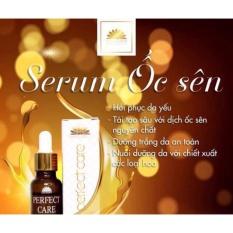 Hình ảnh Serum ốc sên dưỡng trắng da tái tạo ban đêm Perpect care Narguerite 20ml- tặng nạ mắt collagen