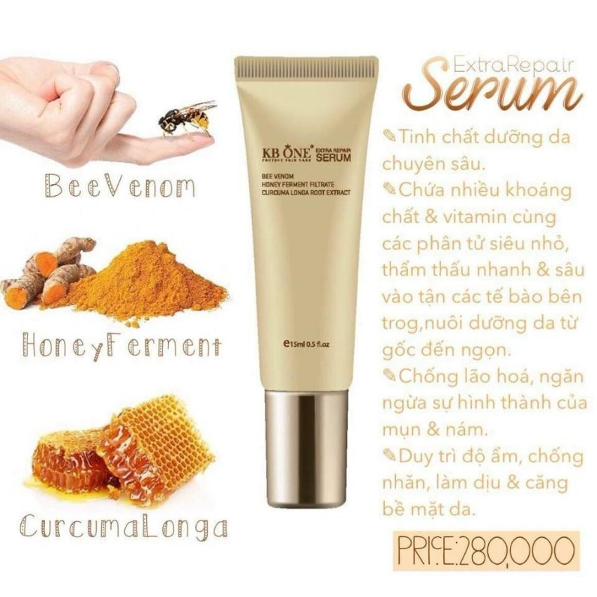 Serum tái tạo da Collagen -  KB ONE - 15ml