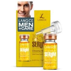Serum Vàng 24K Trắng Da Chuyên Sâu Collagen+ Đẹp Da 12ml LANGCE Total Beauty dành cho nam