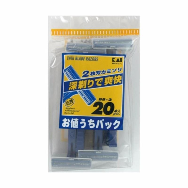 Set 20 dao cạo râu KAI Nhật Bản- Hàng nhập khẩu Nhật Bản