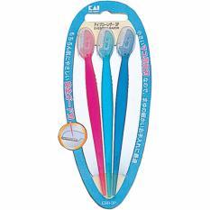 Set 3 dao cạo lông mày  cán dài KAI - Hàng Nhật nội địa