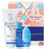 Bán Bộ Chăm Soc Da Senka Exclusive Senka White Clay 120G Uv Milk 40Ml Watery Oil 35Ml Rẻ Hồ Chí Minh