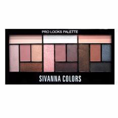 Giá Bán Set Màu Mắt 15 Mau Ấn Tượng Sivanna Colors Pro Looks Palette No1 Trực Tuyến Vietnam