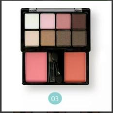 Hình ảnh Set phấn mắt và má hồng ODBO Eyeshadow & Blush Số 03 - Mã #N0