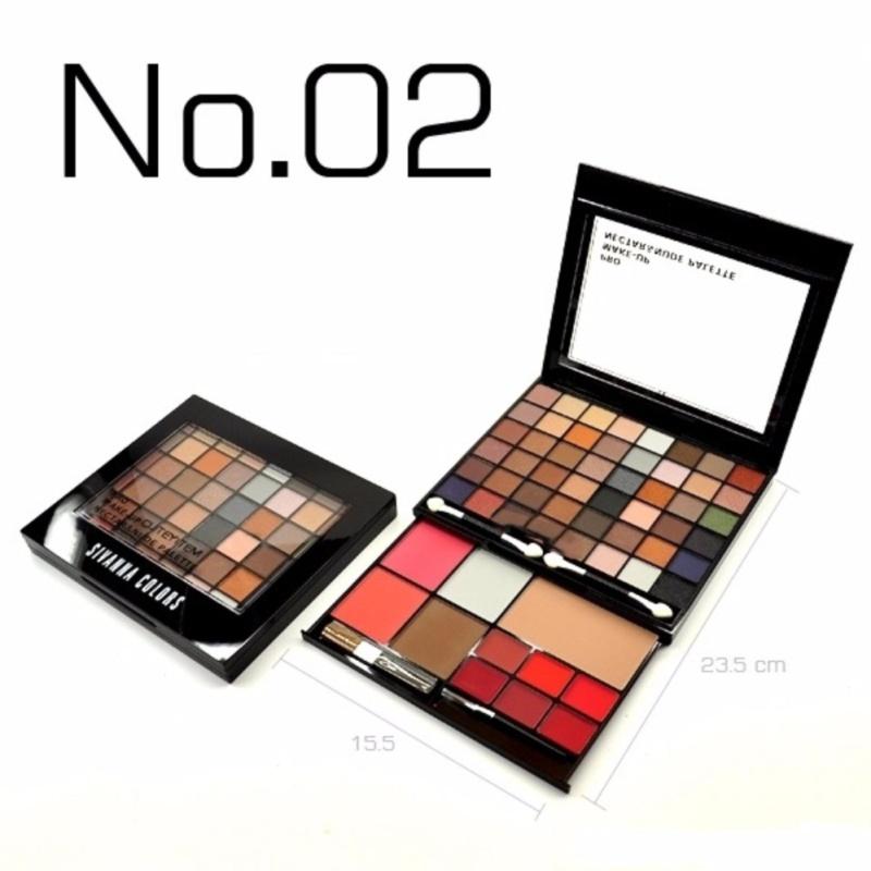 Set trang điểm đa năng 2 tầng Sivanna Colors Pro Make Up Nectar & Nude Palette #No2