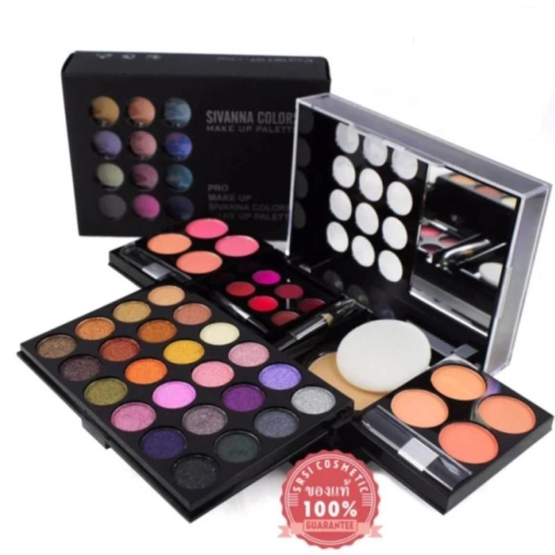 Bộ trang điểm Sivanna Colors Pro Make Up Palette #No 03 tốt nhất