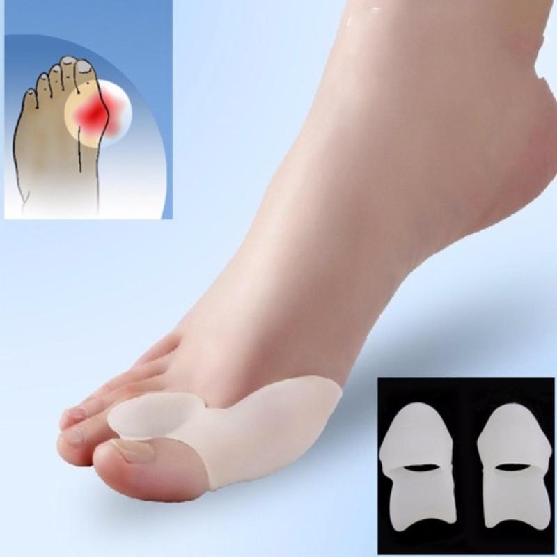Silicone hallux valgus ngón chân ngón chân cái valgus ngón tay cái ngón chân vịt korea hàng ngày MS9 cao cấp