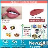 Cửa Hàng Son Agapan 04 Painting Rouge Lipstick Dạng Tint Dưỡng Moi Tặng 01 Mon Qua Ngẫu Nhien Từ New4All Shop Hồ Chí Minh