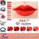 Cửa Hàng Son Agapan 04 Pit A Pat Matte Lipstick Love Đỏ Hồng Nồng Nan Quý Phai Tặng Day Cột Toc New4All Tuyệt Đẹp Hồ Chí Minh