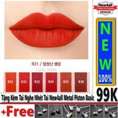 Bán Son Agapan R21 Màu Mượt Moi Pit A Pat Red Edition Limited Lipstick 4G Tặng Tai Nghe Thời Trang New4All Agapan Nguyên
