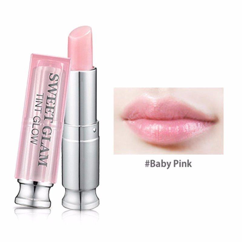 Son Dưỡng Có Màu Secret Key Sweet Glam Tint Glow # Baby Pink nhập khẩu