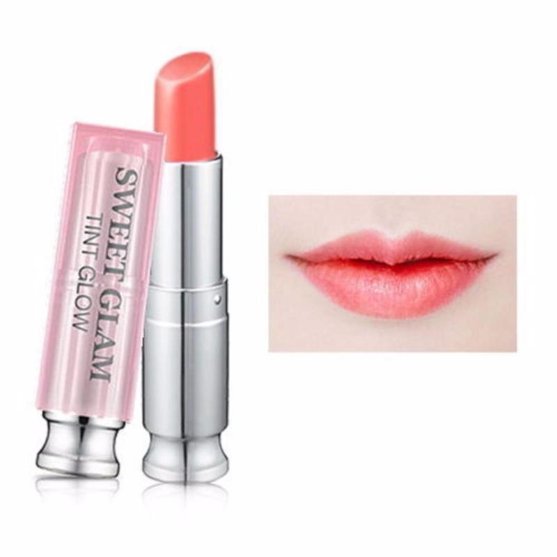 Son Dưỡng Có Màu Secret Key Sweet Glam Tint Glow # Vanilla Peach cao cấp