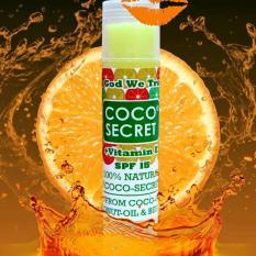Son dưỡng môi dầu dừa cam Cocosecret cao cấp