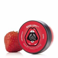 Son dưỡng môi THE BODY SHOP Born Lippy™ Strawberry Lip Balm 10ml nhập khẩu