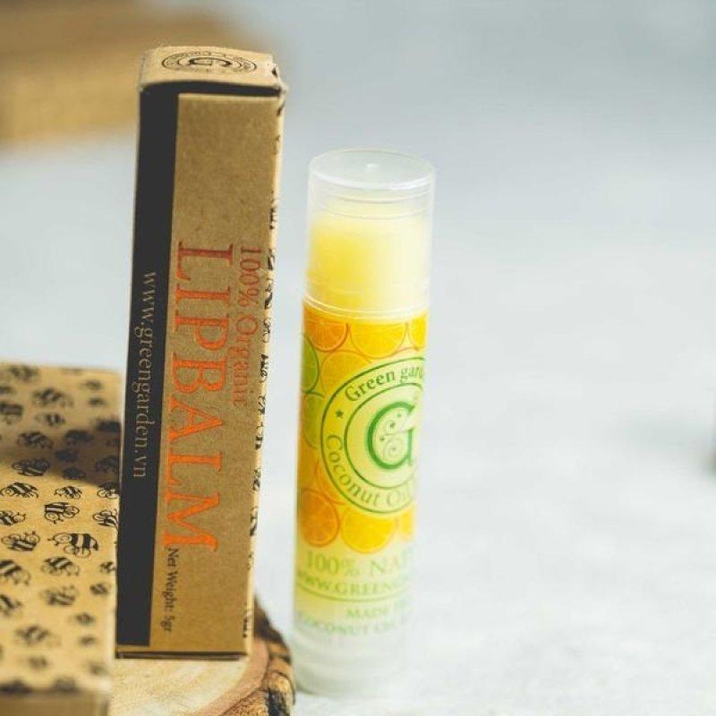 Son dưỡng môi tinh dầu cam 5gr cao cấp