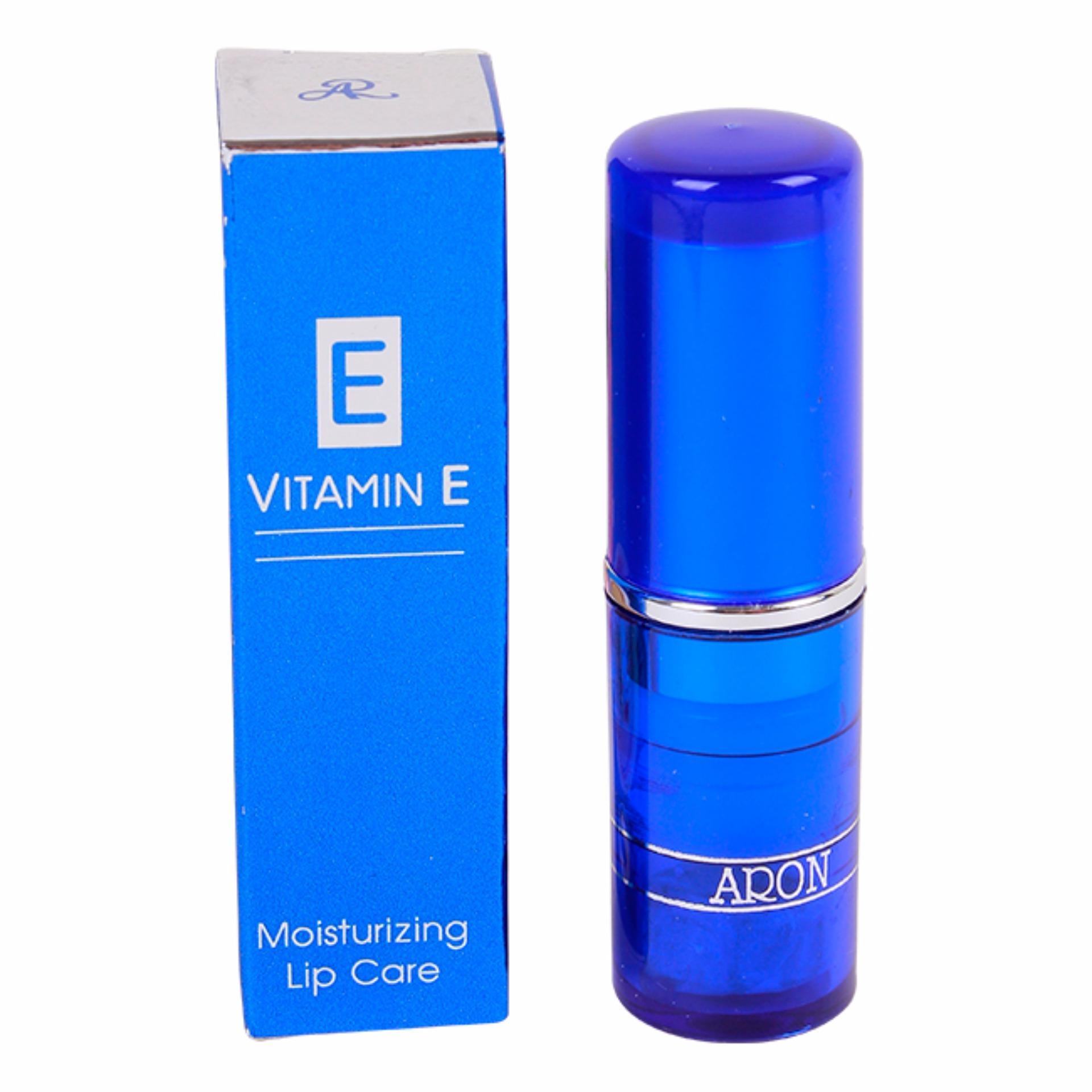 Son dưỡng trị thâm môi ARON VITAMIN E Thái Lan ( Không Màu )