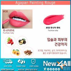 Bán Son Kem Agapan 08 Painting Lipstick 4G Hũ Lỏng Tặng 01 Mon Qua Ngẫu Nhien Từ New4All Shop Agapan