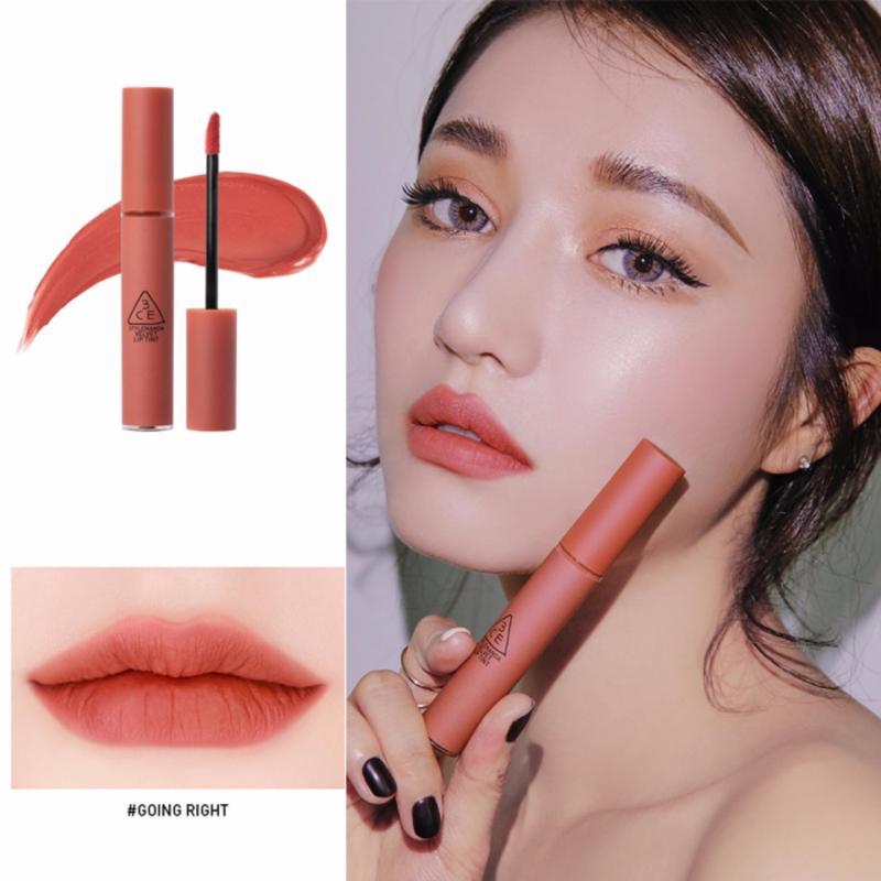 Son kem lì 3CE Velvet Lip Tint #Going Right - Sắc cam hồng đất