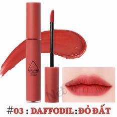 Son Kem Li 3Ce Velvet Lip Tint Mau 03 Dafffodil Đỏ Đất Rẻ