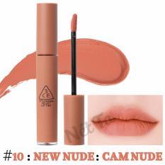 Ôn Tập Son Kem Li 3Ce Velvet Lip Tint Mau 10 New N*d* Cam N*d* 3Ce