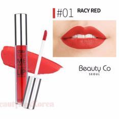 Cửa Hàng Son Kem Li Beauty Co Seoul Stay For Me Matte Glam Lip Lacquer 4Ml 01 Racy Red Đỏ Thuần Co Một Chut Base Hồng Trực Tuyến