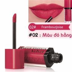 Son kem lì BJ Edition Velvet 7.7ml màu 02 - Màu đỏ hồng- Pháp