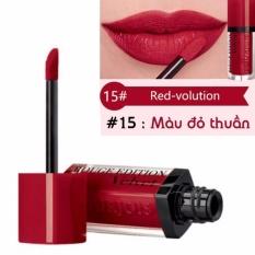 Son kem lì BJ Velvet 7.7ml màu 15 - Màu đỏ thuần- Pháp