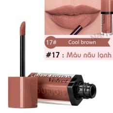 Mua Son Kem Li Bourjois Rouge Edition Velvet 7 7Ml Mau 17 Cool Brown Mau Nau Lạnh Phap Trực Tuyến Hồ Chí Minh