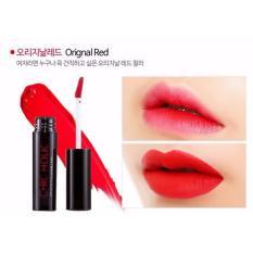 Son Kem Li Chic Holic Long Lasting Fix Lip Lacquer 4 5Ml Original Red Mau Đỏ Thuần Tuy Ton Da Red Chic Holic Chiết Khấu 50