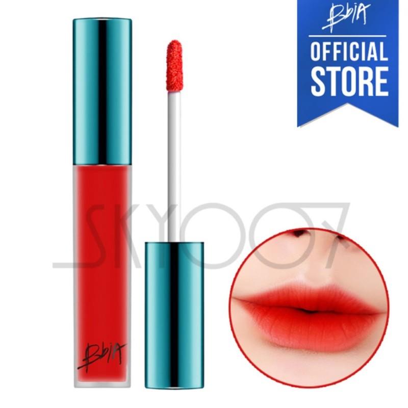 Son kem lì siêu lâu trôi Bbia Last Velvet Lip Tint Version 1 - 02 Extra Bounce (Màu đỏ cam)