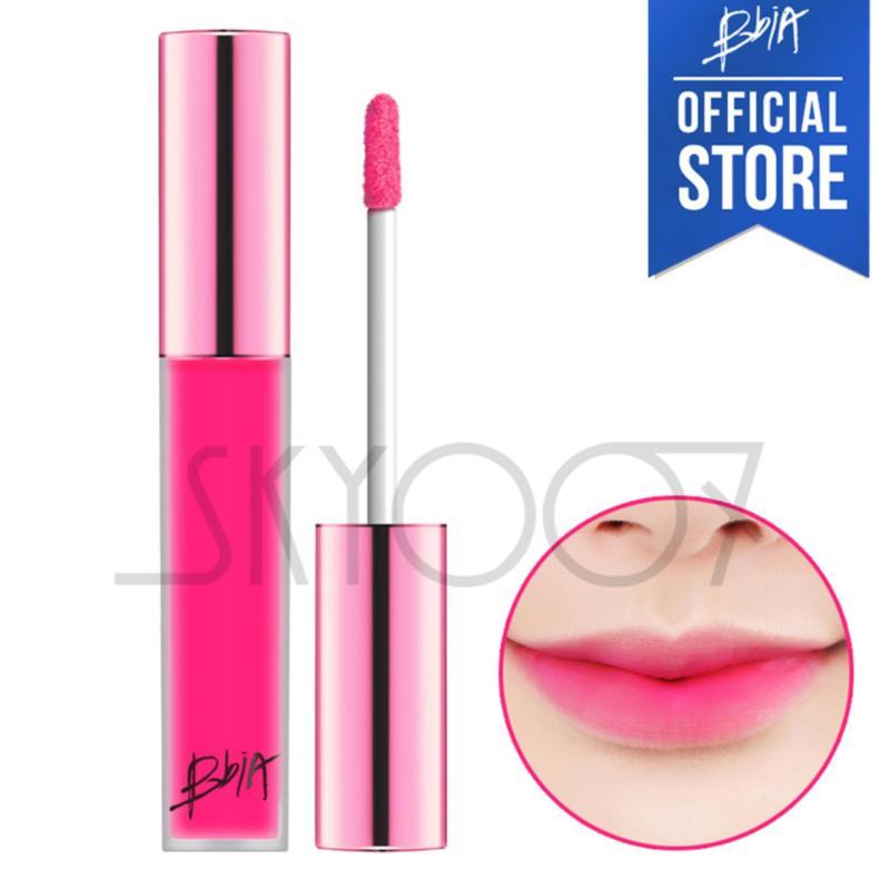 Son kem lì siêu lâu trôi Bbia Last Velvet Lip Tint Version 2 - 08 PINK ATTACK (Màu hồng cánh sen nhạt)