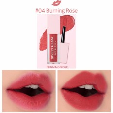 Giá Bán Rẻ Nhất Son Kem Li Sieu Mịn Moi Secretkey Sweet Glam Velvet Tint 04 Burning Rose Hồng Đất