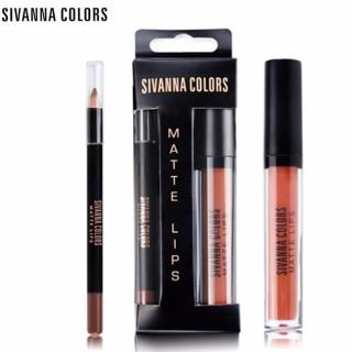 Son kem lì Sivanna Velvet màu số 8 thumbnail