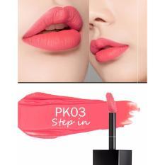 Ôn Tập Son Kem Sieu Li A Pieu Color Lip Stain Matte Fluid Pk03 Step In