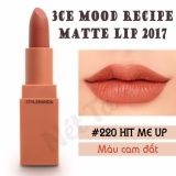 Mua Son Li 3Ce Mood Recipe 2017 Mau 220 Hit Me Up Mau Cam Đất Rẻ Vietnam
