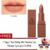 Mua Son Li 3Ce Stylenanda Mood Recipe Matte Lip Color 114 Rows Tặng Son Dưỡng Moi Vaseline Lip Therapy 7G Mới Nhất