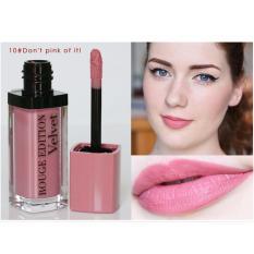 Ôn Tập Son Li Bourjois Rouge Edition Velvet 7 7Ml 10 Don T Pink Of It Hồng Pastel N*d* Trong Vietnam