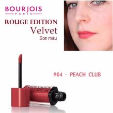Mua Son Li Bourjois Rouge Edition Velvet 7 7Ml 04 Peach Club Orange Cam Đao Bourjois