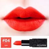 Chiết Khấu Son Li Dạng Thỏi Agapan Pit A Pat Matte Lipstick 04 Love Đỏ Cam Rực Rỡ Ton Da Vietnam