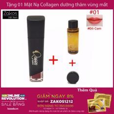 Mã Khuyến Mại Son Li Queen Lipstick Mau 01 01 Mau Đỏ Cam Tặng Nước Tẩy Trang Mắt Moi Va Mặt Nạ Collagen Dưỡng Da Trị Tham Vung Mắt Collagen Crystal Eyelid Patch Rẻ