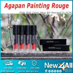Son lỳ Agapan #06 dạng kem thỏi dưỡng môi Painting Rouge Lipstick + Tặng 01 món quà ngẫu nhiên từ New4all Shop tốt nhất