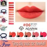 Chiết Khấu Son Lỳ Dạng Thỏi Agapan 06 Matte Lipstick Pit A Pat Tặng Day New4All Buộc Toc Cho Bạn Gai Agapan Hồ Chí Minh