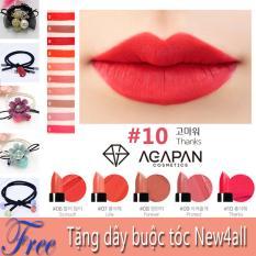 Bán Son Moi Agapan 10 Matte Pit A Pat Lipstick Tặng Day Nơ Buộc Toc Cute Tại New4All Tp Hcm Rẻ Trong Hồ Chí Minh