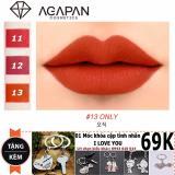 Ôn Tập Son Moi Agapan 13 Matte Pit A Pat Lipstick Tặng Moc Khoa Tinh Yeu Trong Hồ Chí Minh