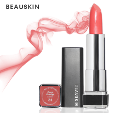 Giá Bán Son Moi Beauskin Crystal Lipstick 3 5G No 24 Deep Orange Hang Chinh Hang Mới