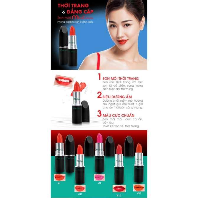 Son môi siêu dưỡng ẩm và lâu trôi Miraculous Éclatant Rouge No.10 Hàn Quốc  3g (Đỏ) + Cọ viền môi mềm mịn dễ tán Suri Lip Brush Hàn Quốc - Hàng Chính  Hãng